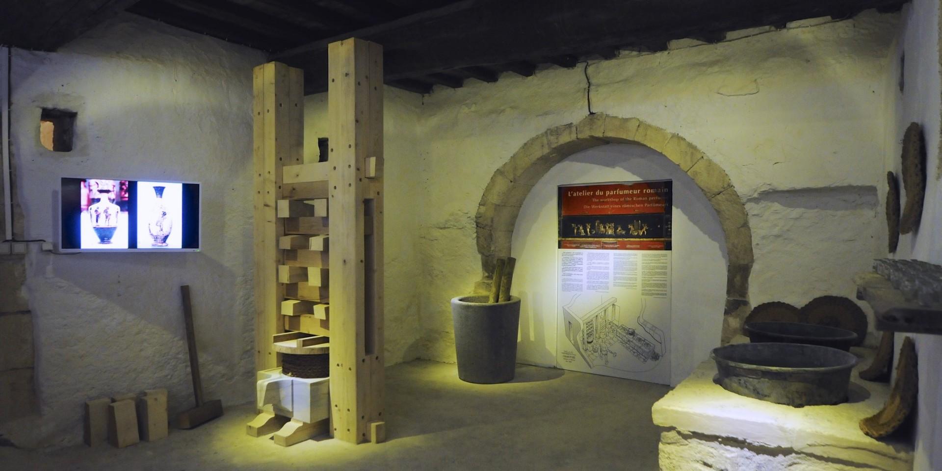 L'atelier du parfumeur romain