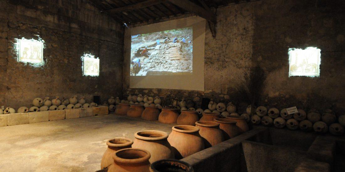 Un film présentant notre journée de vendanges romaines
