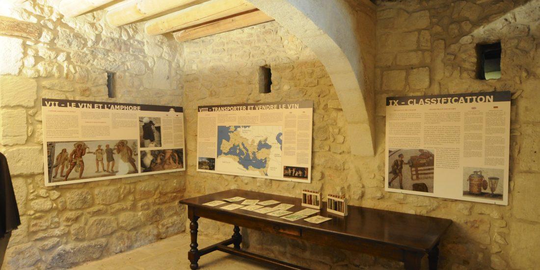 Exposition permanente sur la vigne et le vin antique